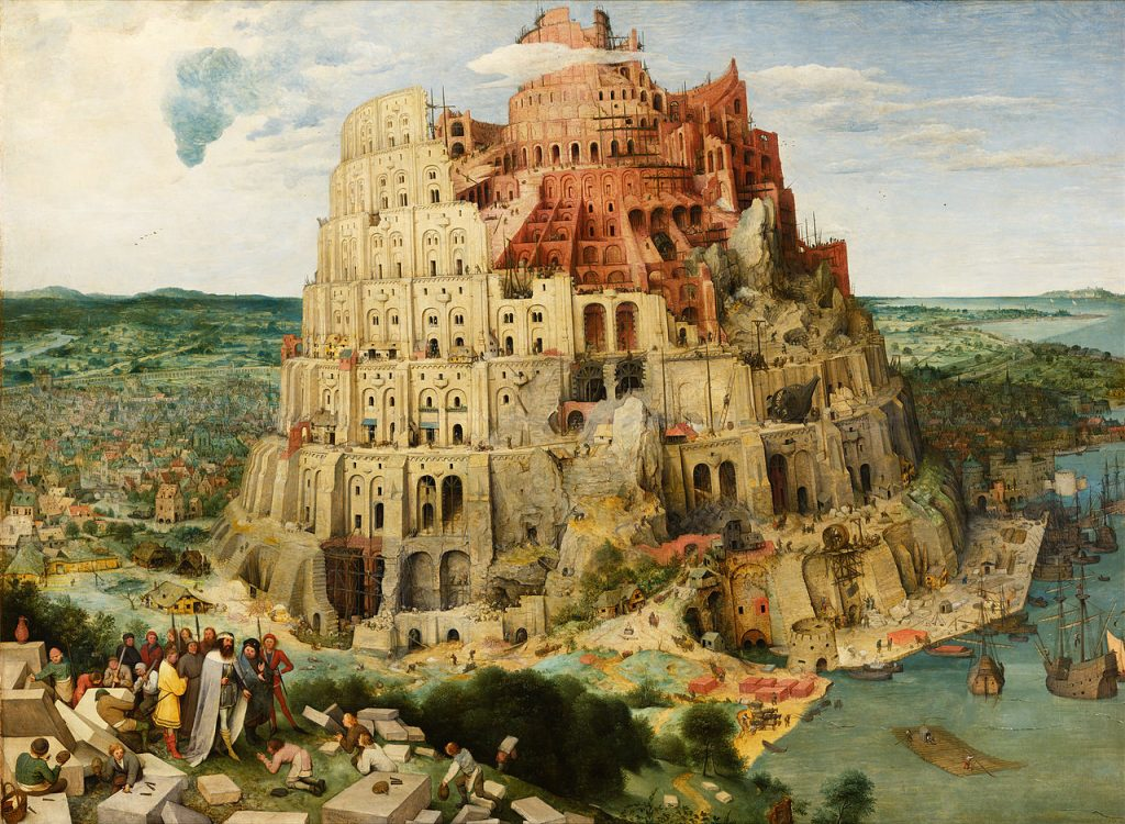 This image has an empty alt attribute; its file name is Pieter_Bruegel_the_Elder_-_The_Tower_of_Babel_Vienna_-_Google_Art_Project_-_edited-1024x750.jpg